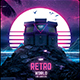 Retro Gaming Flyer v7 Synth World Neon Gaming Template - GraphicRiver Item for Sale