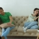 Couple Not Talking After a Dispute on the Sofa - VideoHive Item for Sale