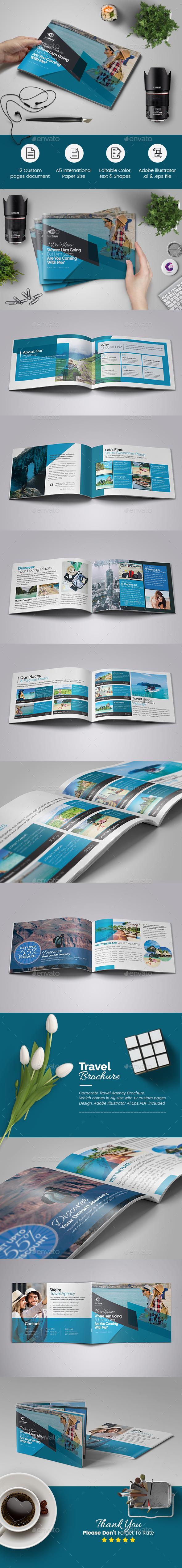 A5 Multipurpose Agency Brochure - Corporate Brochures