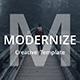 Modernize Creative Keynote Template - GraphicRiver Item for Sale
