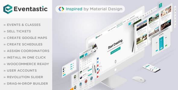 Eventastic - Multipurpose Theme for Events & Classes