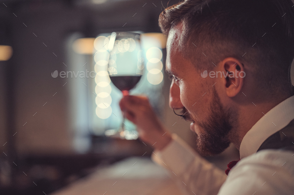 Young man indoors - Stock Photo - Images