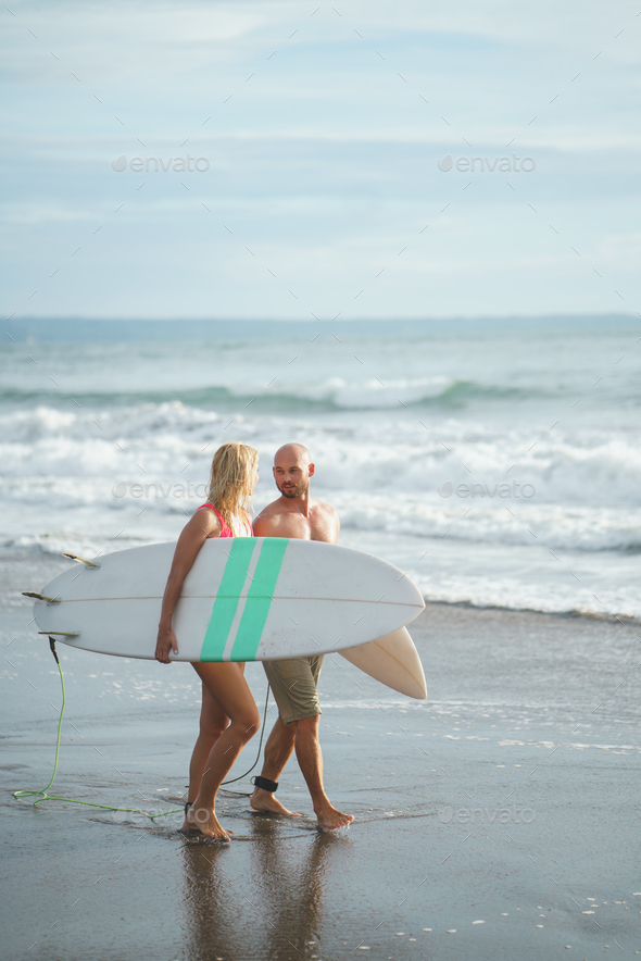 Young couple outdoots - Stock Photo - Images
