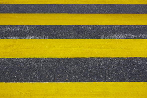 Pedestrian crossing. Asphalt street detail. Traffic signal. City background. Horizontal - Stock Photo - Images