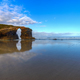 The iconic stone arch of the beach of As Catedrais - PhotoDune Item for Sale