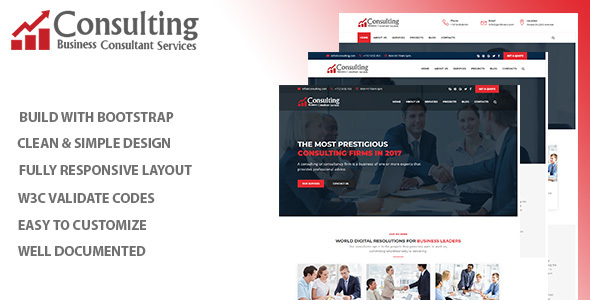 Image of Consulting - Consulting & Business HTML Template
