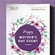 Mother's Day Poster / Flyer Vol.2 - GraphicRiver Item for Sale