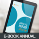 E-Book Annual Report - GraphicRiver Item for Sale
