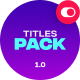 Big Titles Pack - VideoHive Item for Sale