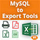 MySQL - Print, PDF, Excel and CSV Export Tools