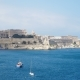 View of the Mediterranean Sea,Valletta and the Island of Malta From the Fort Saint Angelo - VideoHive Item for Sale