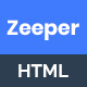 Zeeper - App Landing Page HTML