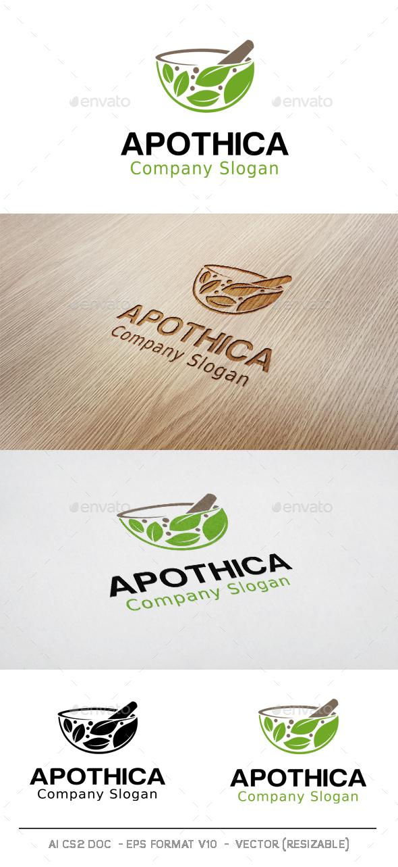 Apothica Logo - Nature Logo Templates