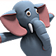 Baby Elephant Dance (3-Pack) - VideoHive Item for Sale