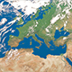 Europe from space 4K - VideoHive Item for Sale