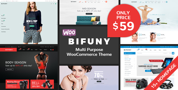 BIFUNY - Multipurpose WooCommerce WordPress Theme