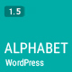 Alphabet - A Responsive WordPress Blog Theme - ThemeForest Item for Sale