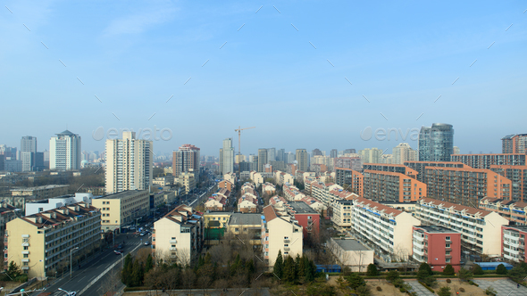 Beichen Beijing city landscape - Stock Photo - Images