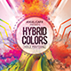Hybrid Colors Holi Fest Flyer Template - GraphicRiver Item for Sale