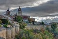 Dark clouds over the cathedral of Segovia - PhotoDune Item for Sale