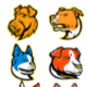 Terrier Dogs Mascot Collection Set - GraphicRiver Item for Sale