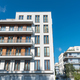 Modern white townhouses in Berlin - PhotoDune Item for Sale