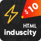 Induscity - Industry / Factory / Engineering and Construction Business HTML Template