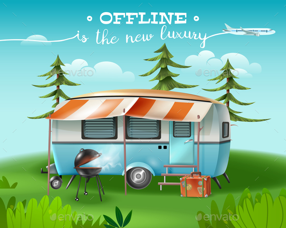 Into The Wild Background - Miscellaneous Vectors