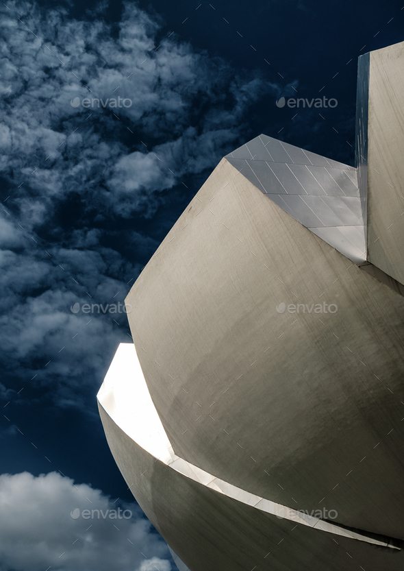 Singapore Art Science Museum  - Stock Photo - Images