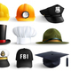 Different Professions Hats Set