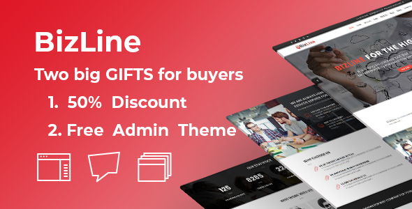 Bizline - Business and Corporate HTML Template - Corporate Site Templates