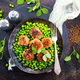 green peas with cutlets - PhotoDune Item for Sale