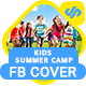 Summer Kids Activity Facebook Timeline Covers - AR - GraphicRiver Item for Sale