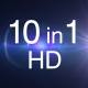 10 Sparkle Light HD Pack - VideoHive Item for Sale