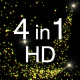 4 Fairly Particles HD Pack - VideoHive Item for Sale