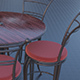 chairs and table 02