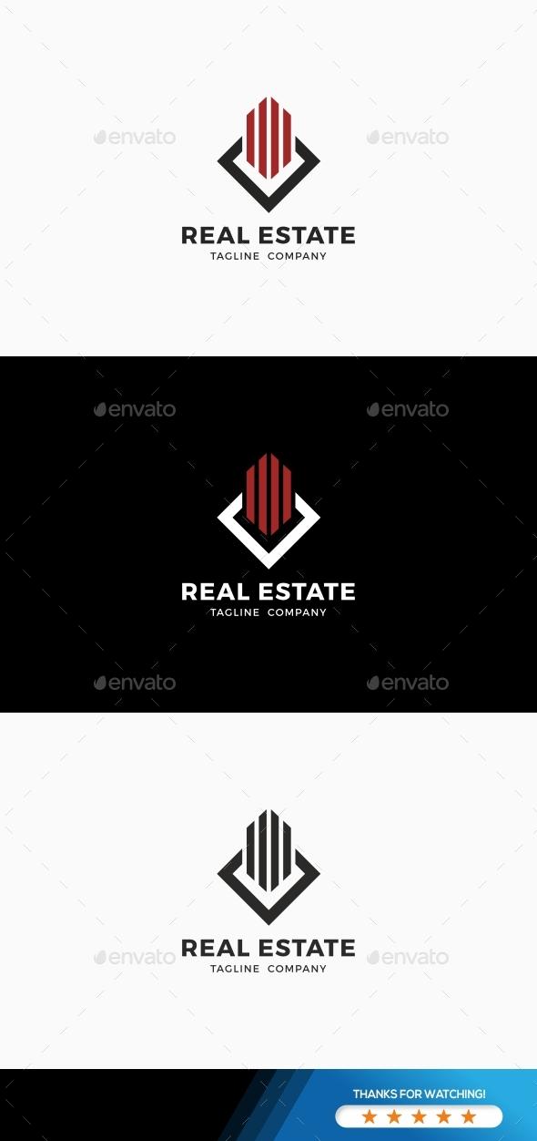 Real Estate  Invest Logo - Symbols Logo Templates