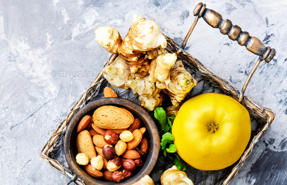 Healthy food composition - Stock Photo - Images