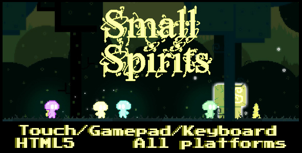 Small Spirits - HTML5 Game (CAPX) - CodeCanyon Item for Sale