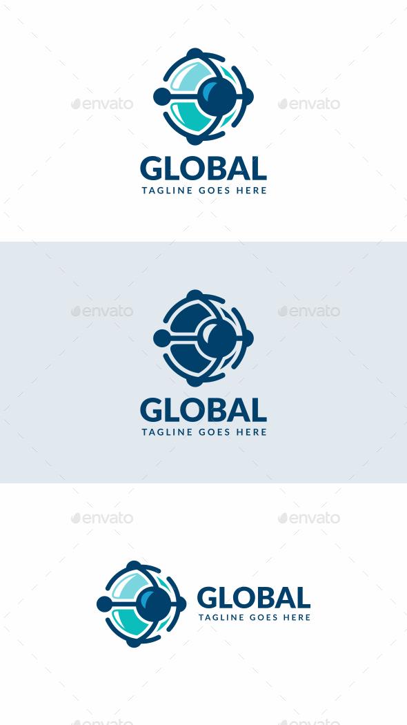 Global Tech - Abstract Logo Templates