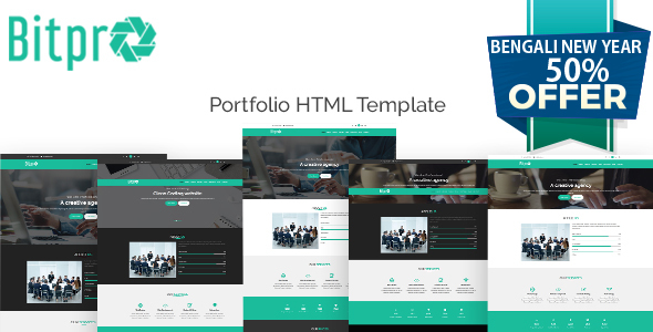 BitPro-Multipurpose Business and Corporate Template - Site Templates