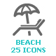 Beach & Summer Mini Icon - GraphicRiver Item for Sale