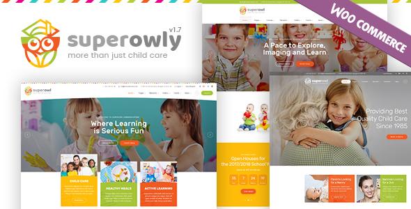 SuperOwly - Kids WordPress Theme - Children Retail