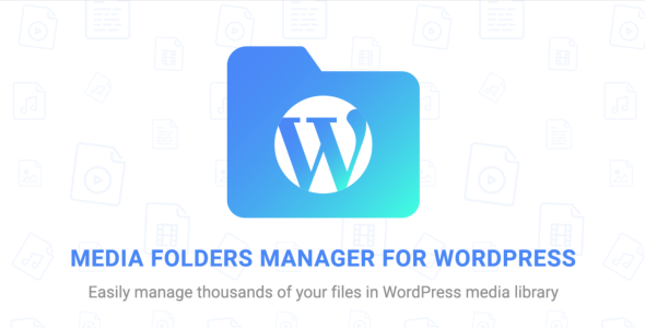 Media Folders Manager for WordPress - CodeCanyon Item for Sale