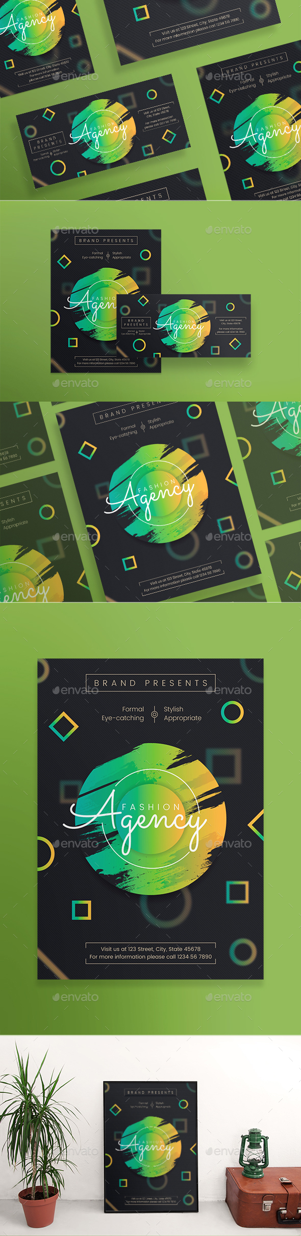 Fashion Agency Flyers - Miscellaneous Events