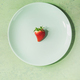 Strawberries on plate - PhotoDune Item for Sale