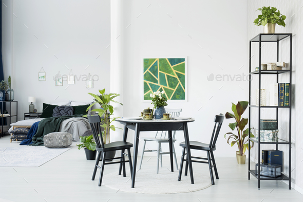 Modern small apartment - Stock Photo - Images