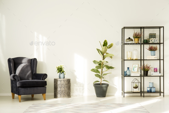 Simple room interior - Stock Photo - Images
