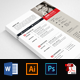 Word CV Resume 3 Pages - GraphicRiver Item for Sale