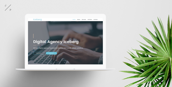 Iceberg – Digital Agency Muse Template